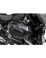 Cylinder protection aluminium black (set) for BMW R1250GS / R1250R / R1250RS / R1250RT