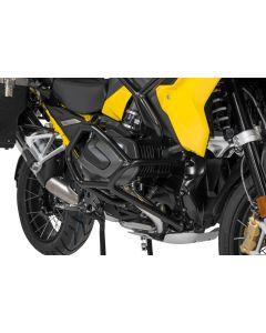 Stainless steel crash bar, black for BMW R1250GS