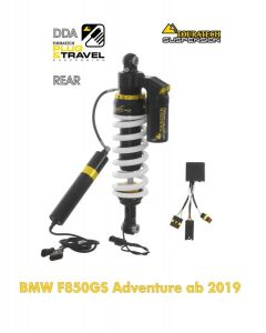 Touratech Suspension shock absorber for BMW F850GS Adventure from 2019 DDA / Plug & Travel