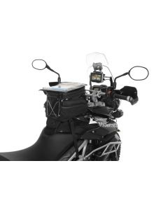 Tank bag Black Edition for the Triumph Tiger 800/ 800XC/ 800XCx, water repellent